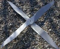 4 Blatt Propeller Sunny Rotax 582, 160cm