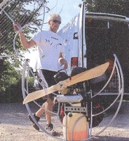 2 Blatt Propeller 130cm Polini Thor EVO power